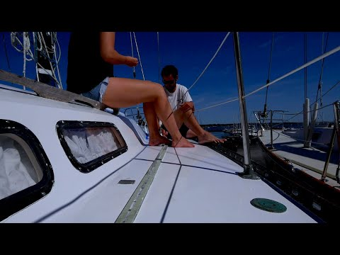 Ep. 1 - DIY SAILBOAT REPAIRS To Prepare For OFFSHORE SAILING - How Not To Sail A Boat