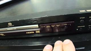 O Rei do Som - DVD Player Marantz DV-6001