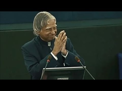 Dr. A P J Abdul Kalam Powerful Motivational Speech In European Parliament Makes India Proud