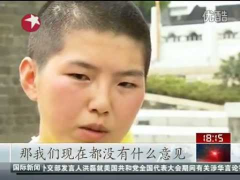Coeds in Guangdong shave heads to protest unfair gender admission practices