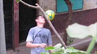 A Freestyle Football Session.