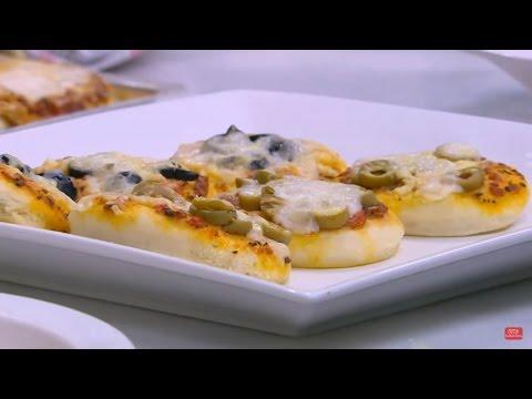 ميني بيتزا | نجلاء الشرشابي