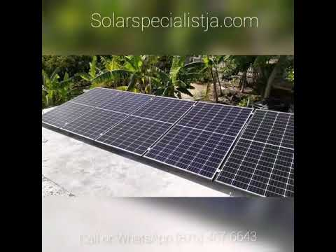 Most sold Solar Off-grid System in Jamaica
