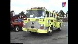 FDNY Lime Green / Yellow Mack CF Pumper, 1995.