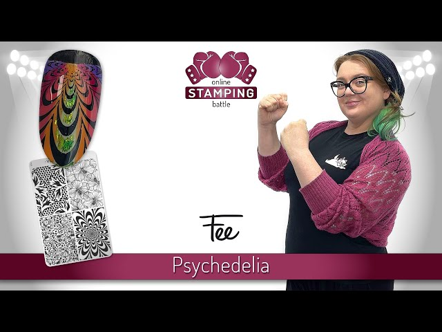 Round 3 :YOURS Online Stamping Battle 'Psychedelia'