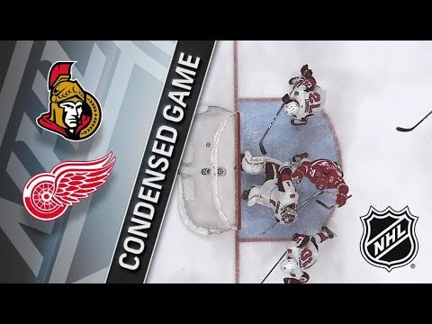 Ottawa Senators vs Detroit Red Wings – Mar. 31, 2018 | Game Highlights | NHL 2017/18. Обзор