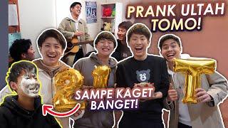 Download lagu PRANK ULTAH TOMO TIBA2 KE RUMAHNYA!! SAMPE SPEECHLESS😂