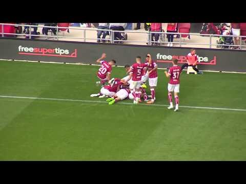 Goals: Bristol City 3-1 Barnsley