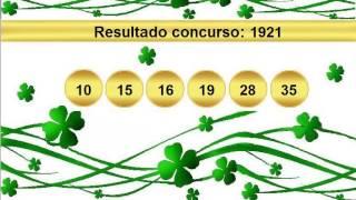 sorteio resultado mega sena 1921 Palpite 1922