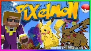 Pixelmon - THE MINI GAME ISLAND IS BEAUTIFUL | Minecraft Pokemon Mod