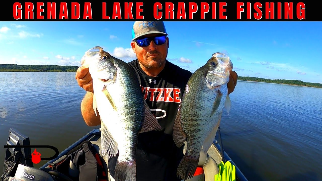 Grenada Lake Summer Crappie Fishing
