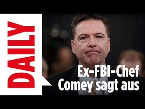 Ex-FBI-Boss Comey sagt aus / Donald Trumps D-Day - Daily Spezial live 8.6.17