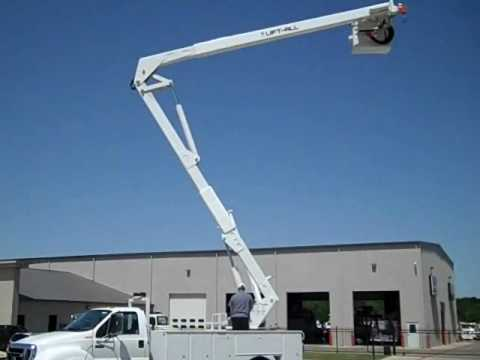 Stock # 10087 Lift-All LOM10-55-Bucket Truck wmv