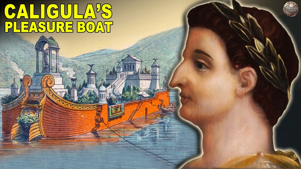 The Remains Of Caligula's Secret 'Pleasure Boat' Were Found In NYC