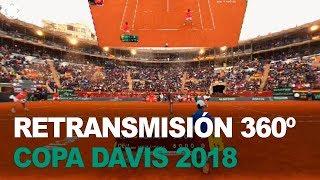 La Copa Davis en 360º | Segunda jornada España - Alemania | Dobles tenis