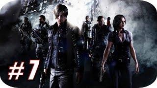 Resident Evil 6 HD [Campaña Leon] Gameplay Español - Capitulo 7 - El Tiburón