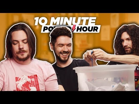 Tie Dye For Real (ft. Jacksepticeye?) – Ten Minute Power Hour