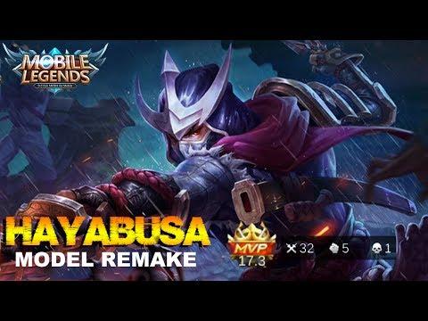 Mobile Legends - Shadow of Iga HAYABUSA Model Remake Gameplay [MVP]