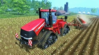 FARMING SIMULATOR 2015 | CASE QUADTRAC 620 + VOGEL AND NOOT HEROS 1000
