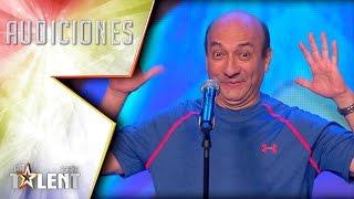 La cola de lagarto de Eddie no convence al jurado | Audiciones 3 | Got Talent España 2017