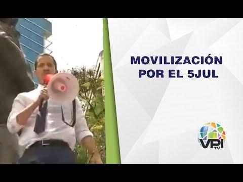 EN VIVO - Movilización por el 5 de Julio en Venezuela