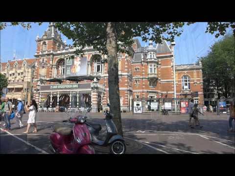 Amsterdam - Rijksmuseum to Centraal Station (July 2015)