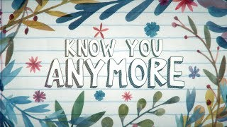 Bo Talks - Know U Anymore ft. Sarah Hyland [Lyric Video]