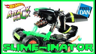 Hot Wheels Attack Pack Slime-Inator 1993 Mattel Slime Toy Video Review