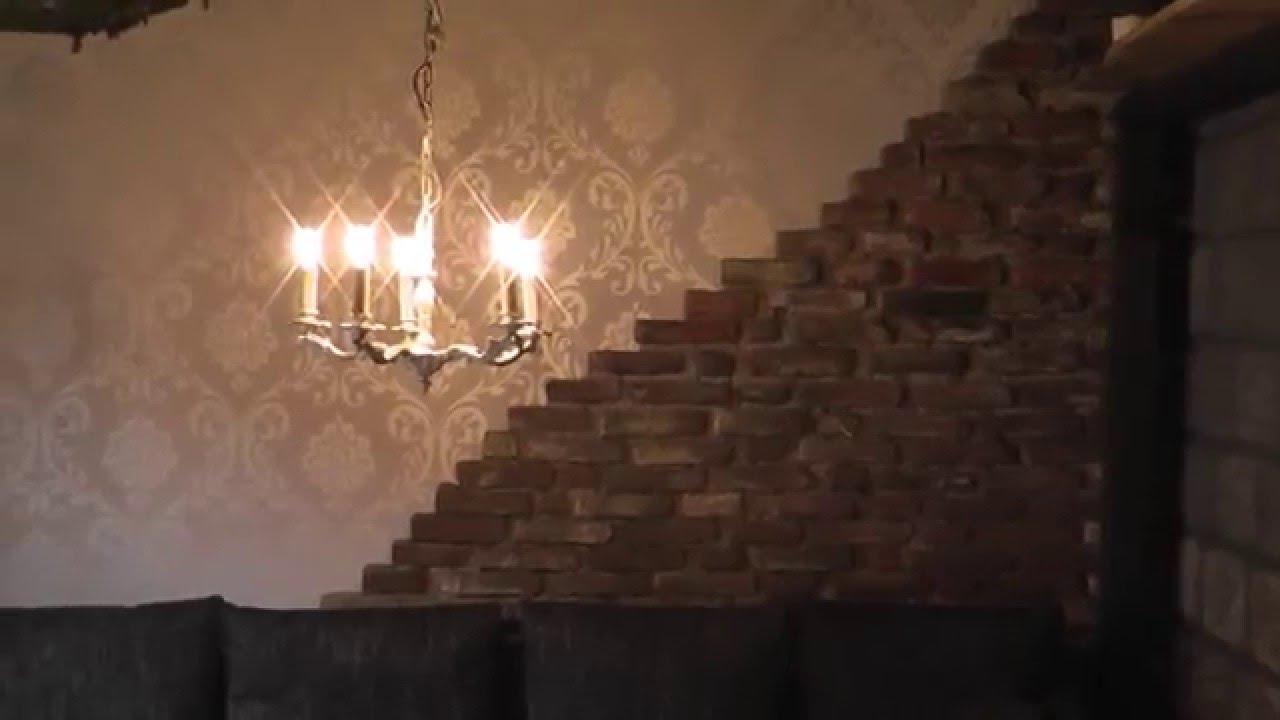 alte wand Steinmauer verschönern Teil2, Wandgestaltung mit