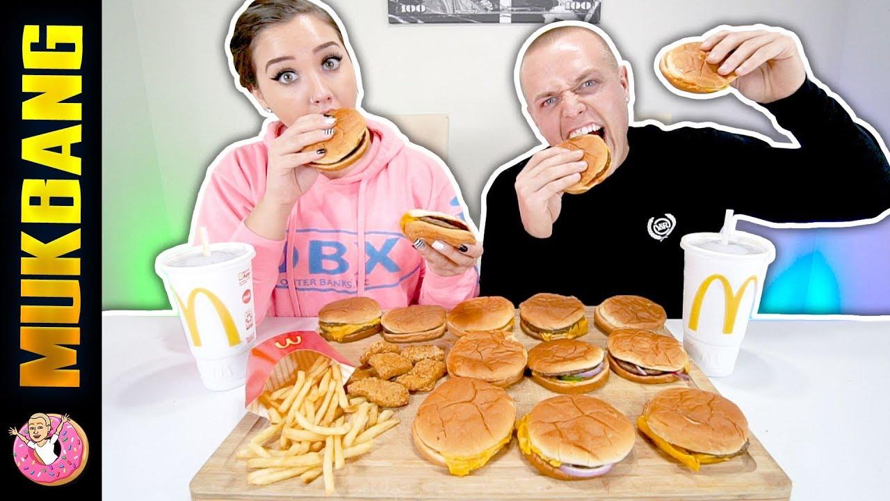 Mcdonalds Mukbang Eating Show