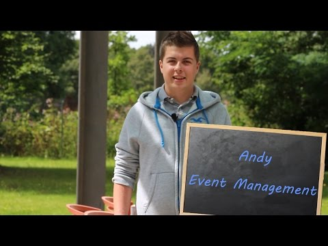 Why study... Event Management?