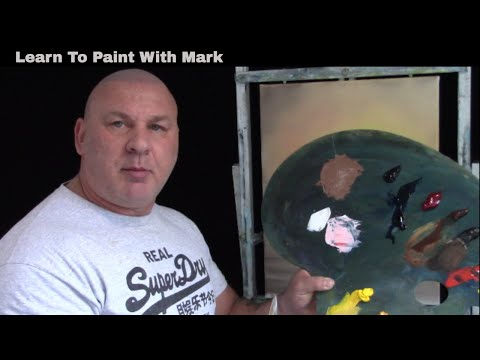 Bob Ross Painting Class By Mark Terrell Certified Bob Ross