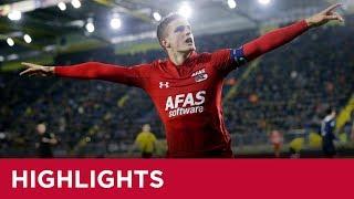 Highlights NAC Breda - AZ | Eredivisie