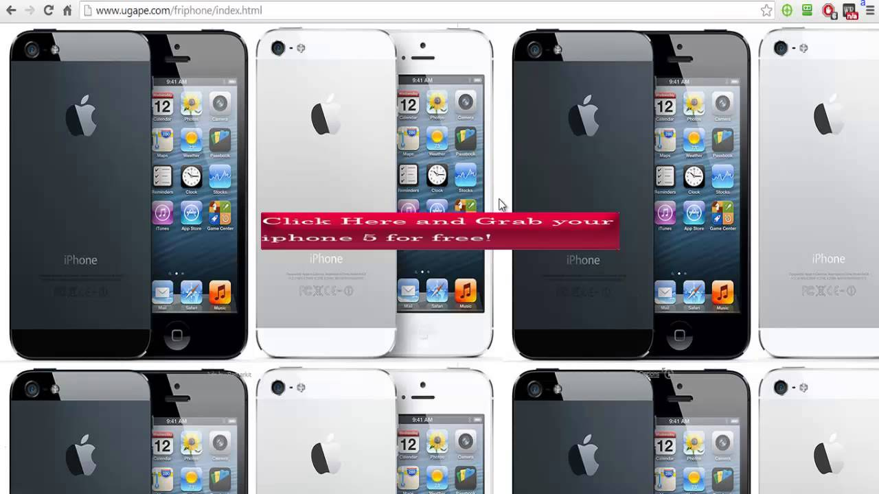Free iphone 5 - 100% Legal and guaranteed for US resident