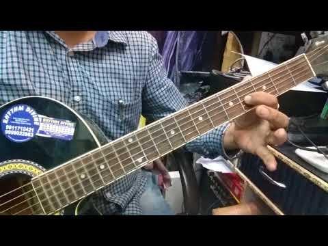To Chalu Guitar Tab Lesson.|| Guitar Chords+ Solo || Border ||