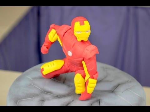 Фигурка Железный Человек из мастики - Я - ТОРТодел!