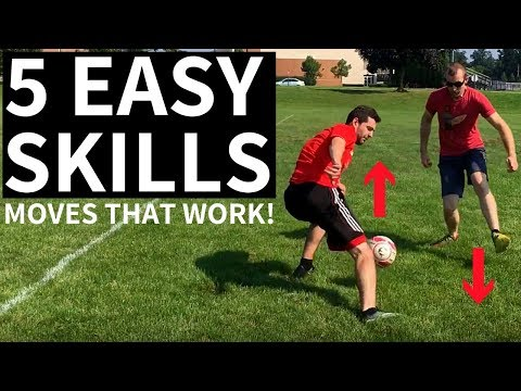 5 Easy Skill Moves To Beat A Defender