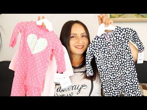 МАЙСКИЕ Покупки Mothercare, Carter's  для новорожденного осенью 🍂🍁
