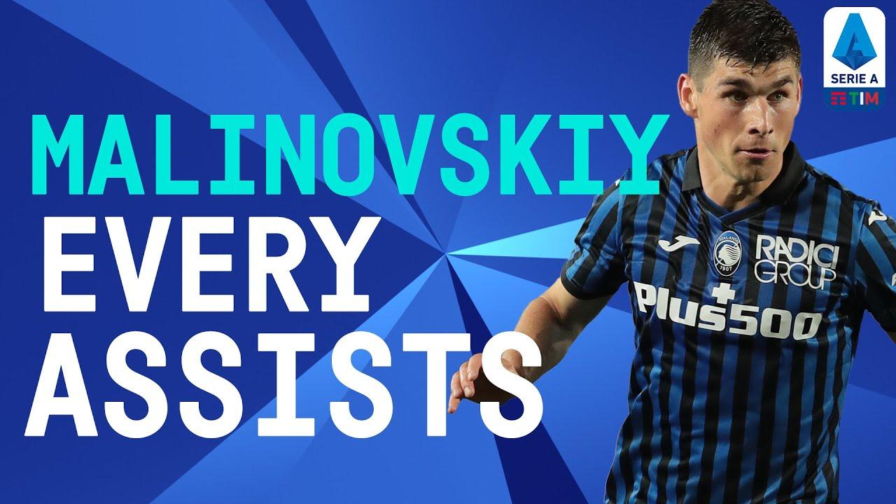EVERY Malinovskiy Assist of the Season | 2020/21 | Serie A TIM