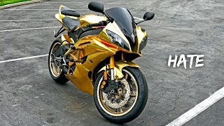 5 THINGS I HATE ABOUT MY GOLD YAMAHA R6!!