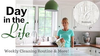 Weekly Cleaning Routine ~ Day in the Life ~ Friday Cleaning ~ Simple Cooking