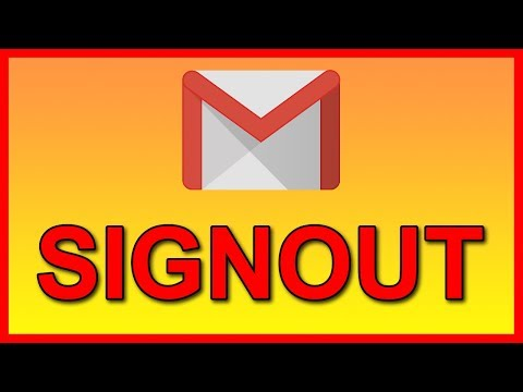 How To Logout From Gmail App On Android (2018)