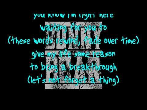 The Bunny The Bear - Ocean Floor lyrics