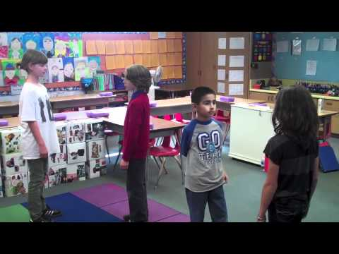 Teaching Kids Synonyms & Antonyms (Rock It!, Part 2: The Jumping Game)