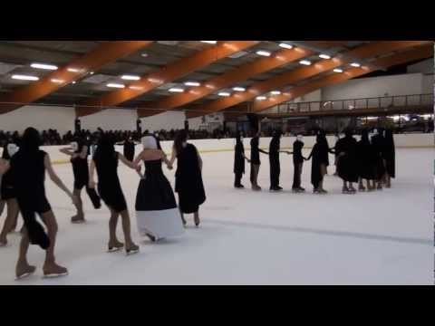 Patinage synchro Deuil - Gala de fin de saison 2012 : les Dieux de l'Olympe