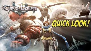 PS2: Chaos Legion! Quick Look - YoVideogames