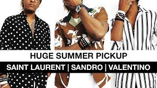 Huge Summer Pickups ft. Saint Laurent, Sandro & Valentino