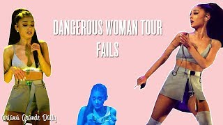 Download Ariana Grande - ALL THE FAILS (Dangerous Woman Tour) Mp3 and Videos