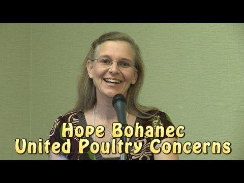 Hope Bohanec at Animal Rights National Conference 2014