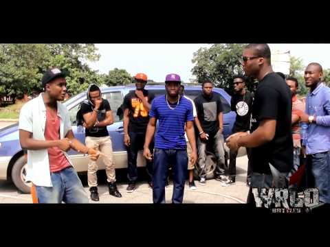 NIGERIAN RAP BATTLE! CKLIN vs. HEC [Full Battle] [WRGO]